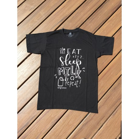 Eat, Sleep, Milk, Repeat T-shirt