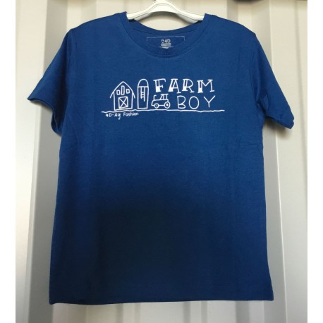 Farm Boy Kids T-shirt